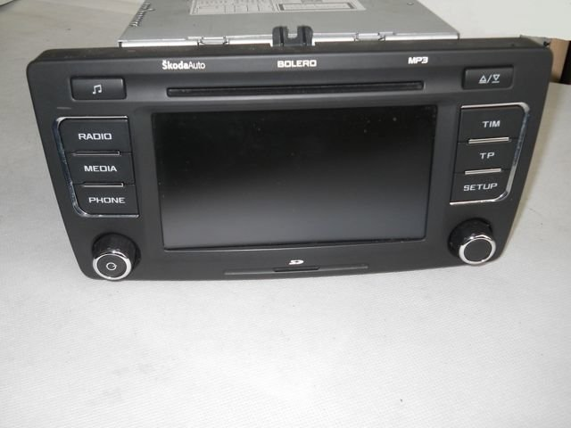 radio skoda octavia yeti bolero 1z0035156f 0 akcesoria. Black Bedroom Furniture Sets. Home Design Ideas
