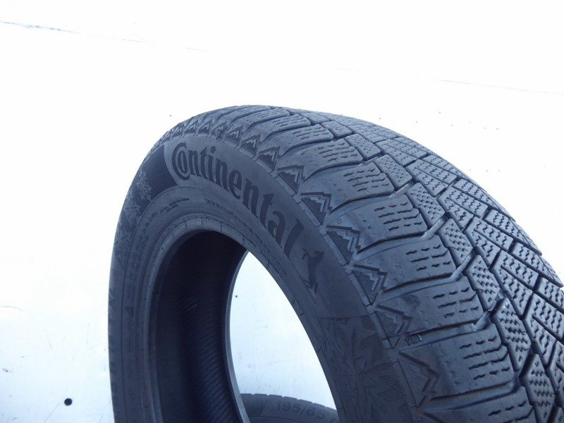2x 195/65R15 95T XL CONTINENTAL CONTI VIKING CONTACT 6 2016 5,5mm