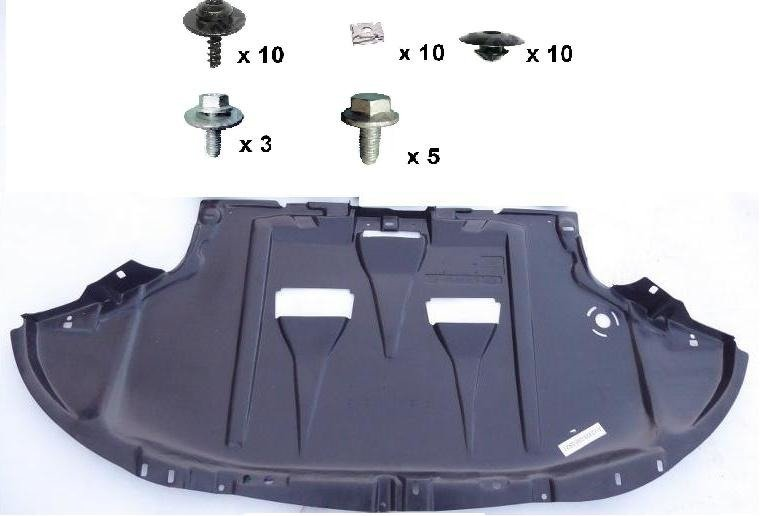 Undertray Guard Engine Cover Clips & Screw KIT A3 A4 Golf Caddy Jetta Touran