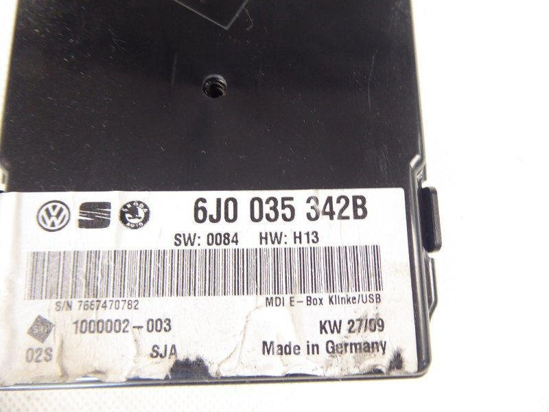 МОДУЛЬ INTERFACE SEAT IBIZA 6J0035342B